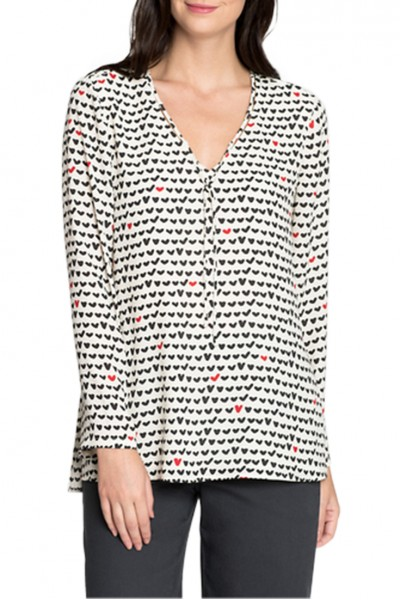 Nic+Zoe - Women's Checked Out Top - Multi