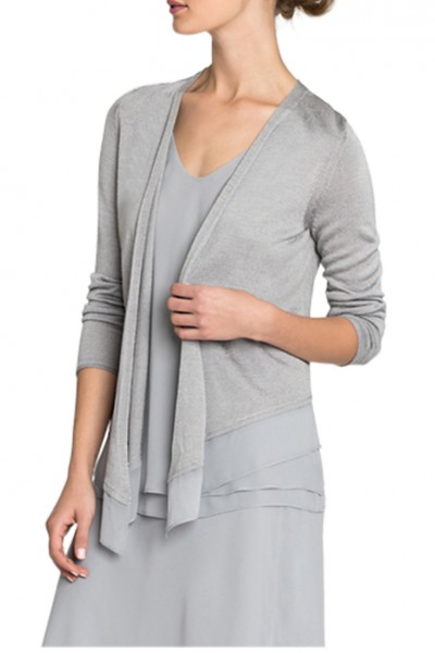 Nic+Zoe - Women's Paired Up Cardy - Zinc