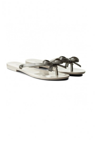 Melissa - Women's Harmonic Chrome II Slides - White Silver