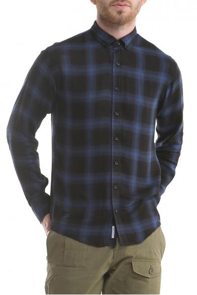 Publish Brand - Men's Antoine Button Up Shirt - Blue