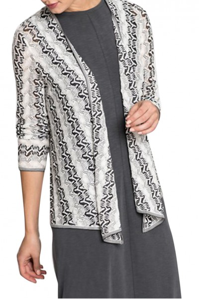 Nic+Zoe - Women's Covered Up 4 way Cardy - Multi