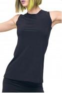 Norma Kamali - Women's Sleeveless Swing Top - Midnight