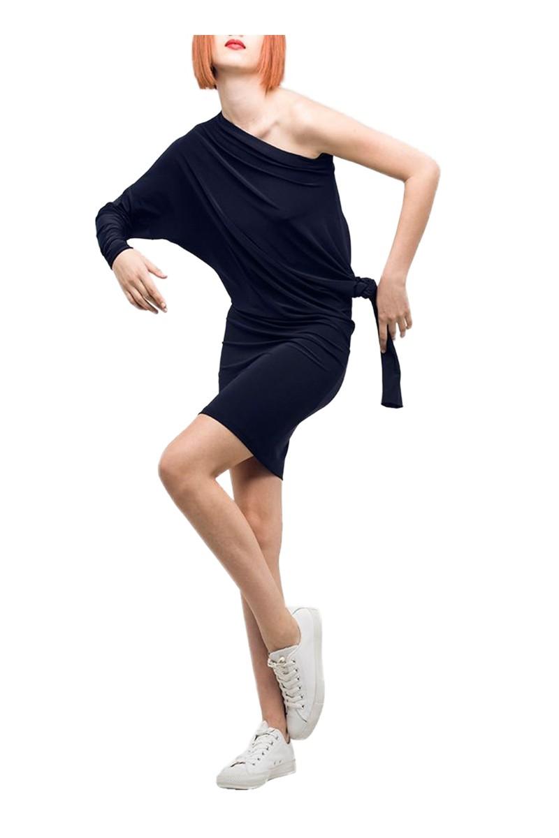 Norma Kamali - Women's All in One Dress - Midnight