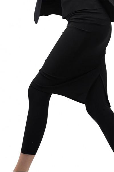 Norma Kamali - Women's Straight Skirt - Black
