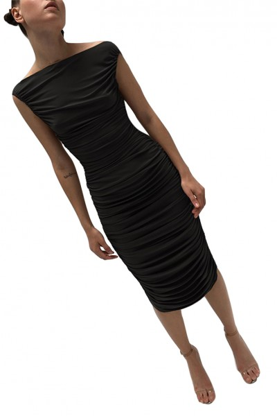 Norma Kamali - Women's Tara Dress - Black
