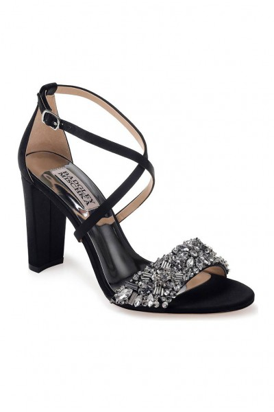 Badgley Mischka - Women's Sandra Strappy Sandal - Black
