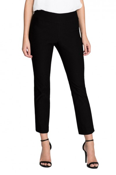 Nic+Zoe - Women's Crop Wonder Stretch Pant - Black Onyx