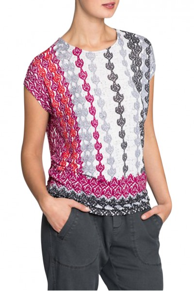 Nic+Zoe - Women's Stained Glass Top - Multi