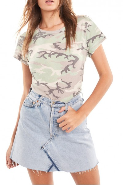 Wildfox - Women's Camo No9 Tee - Multi