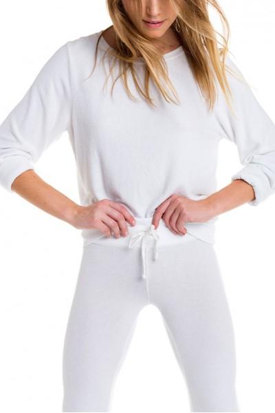 Wildfox - Women's Baggy Beach Jumper - White