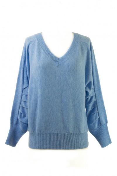 Brochu Walker - Women's Weller Pullover - Air Blue Melange