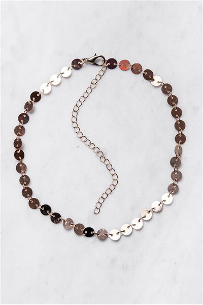 Tease By Tory - Women's Coin Chain Choker