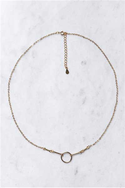 Tease By Tory - Women's Karma Chain Necklace - Gold