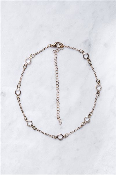 Tease By Tory - Women's Round Crystal Choker