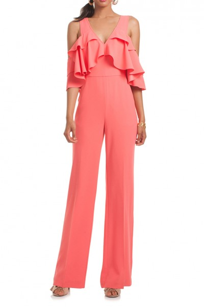 Trina Turk - Women's Josephine Jumpsuit - Coral Lily