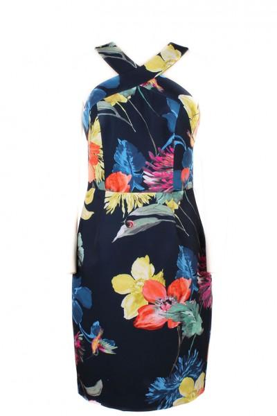 Trina Turk - Women's Ace Splendor Dress - Indigo Floral