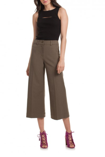 Trina Turk - Women's Tailor Pant - Olive
