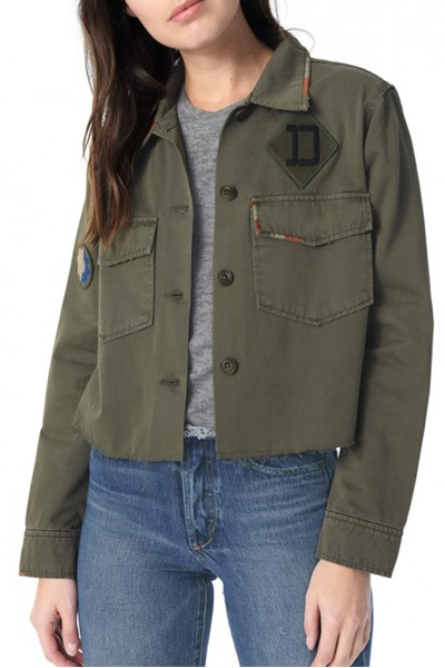 Joe's - Women's Mary Military Shirt - Earth Army
