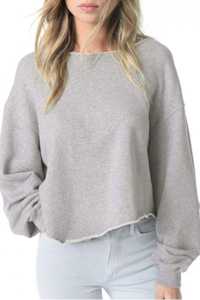 Joe's - Women's Laurel Sweatshirt - Heather Grey