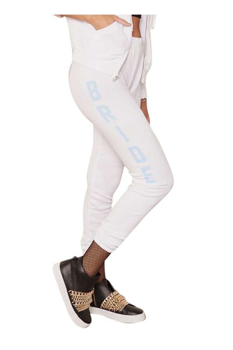 Wildfox - Women's Bride Print Sweatpants - White