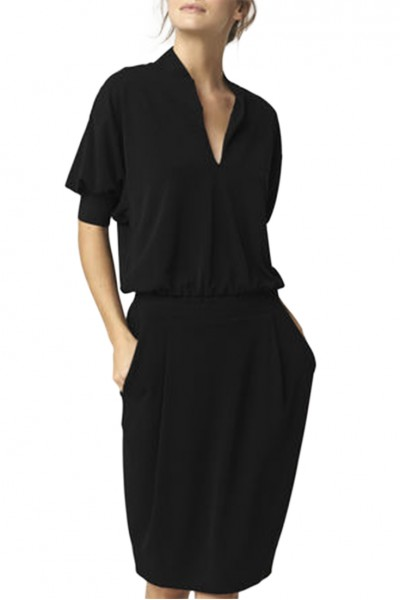Malene Birger - Women's Schumba Dress - Black
