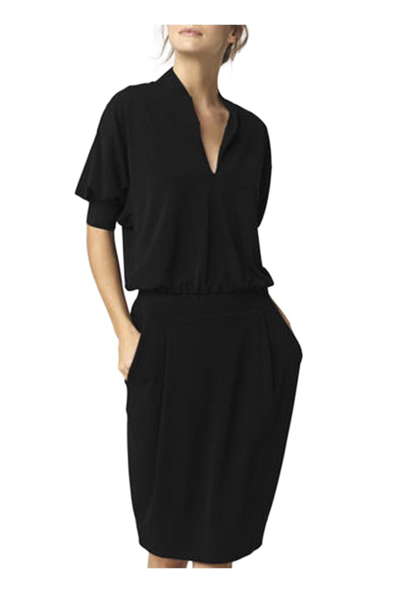db2d6a10 Women's Schumba Dress Birger Black Malene nFaqTBwW