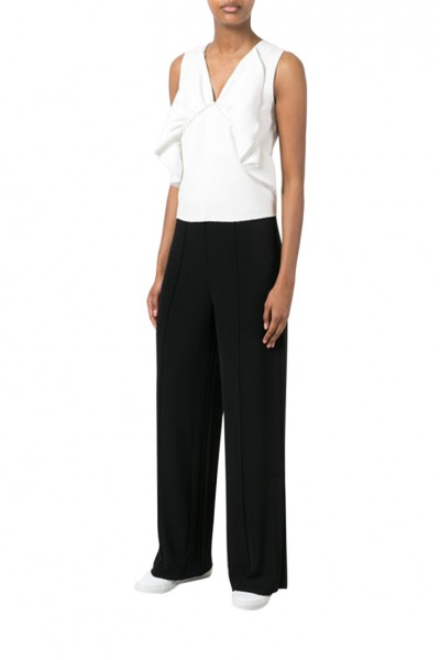 Malene Birger - Women's Mulanas wide-leg trousers - Black