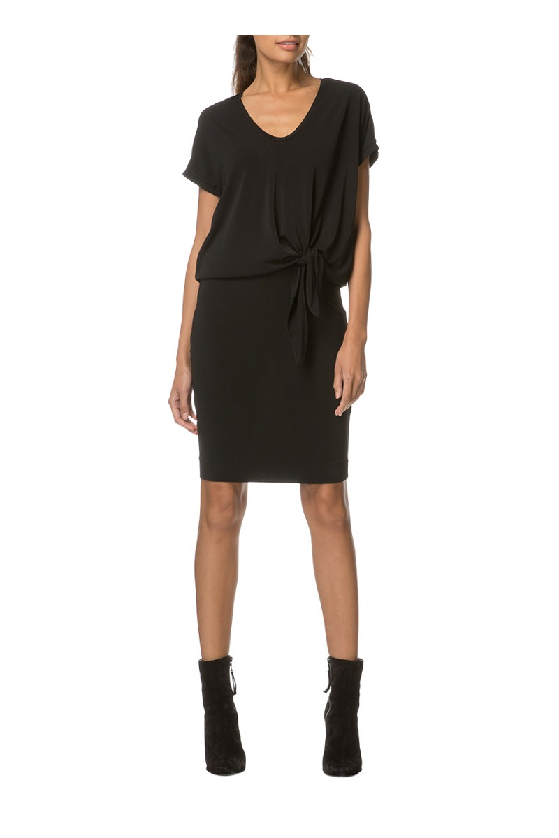 Malene Birger - Women's Milliva Crepe Jersey Dress - Black