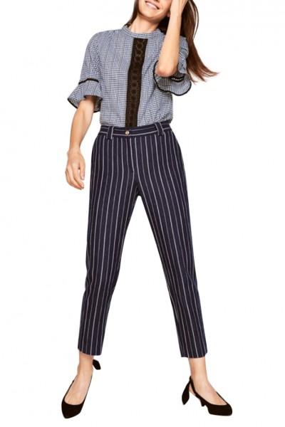 Tara Jarmon -  Women's Slim Fit 7/8 Denim Trousers - Midnight Blue