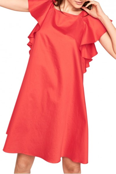 Tara Jarmon -  Women's Light Weight Dress - Poppy