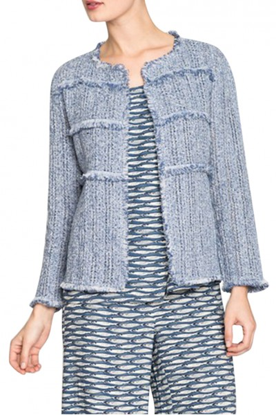 Nic+Zoe - Women's Atlas Jacket - Mosaic Blue