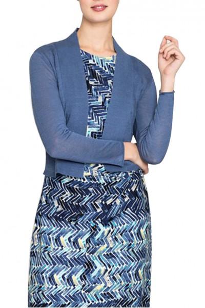 Nic+Zoe - Women's Daybreak Cardy - Mosaic Blue