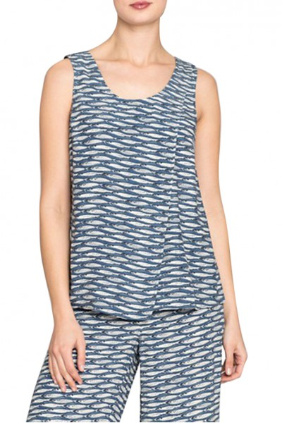 Nic+Zoe - Women's Big Sea Tank - Multi