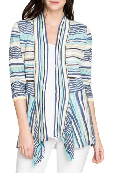 Nic+Zoe - Women's Good Vibe Cardy - Multi