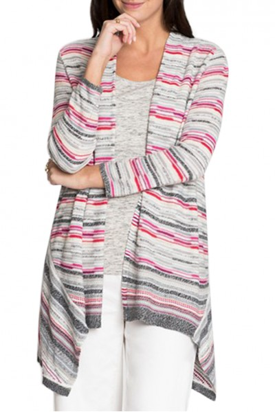 Nic+Zoe - Women's Color Mix Cardy - Multi