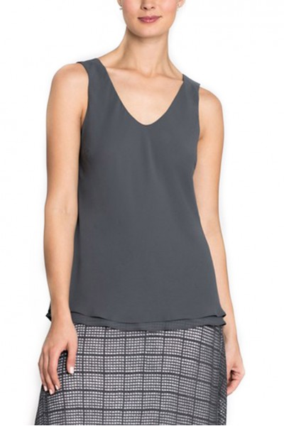 Nic+Zoe - Women's Paired Up Tank - Ink