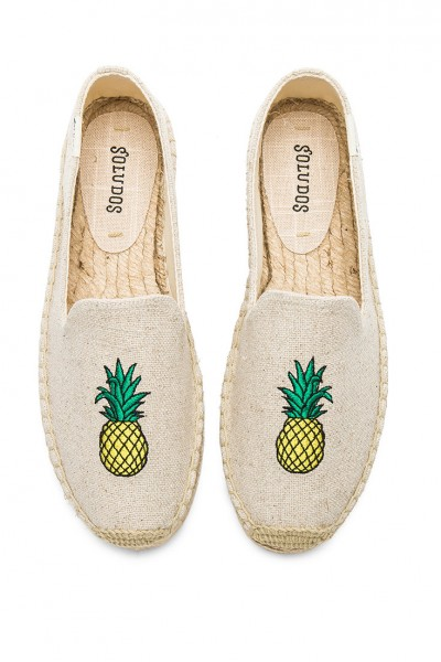 Soludos - Women's Pineapple Smoking Slipper - Sand