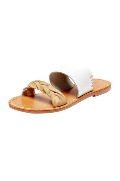 Soludos - Women's Brided Slide Sandal - White
