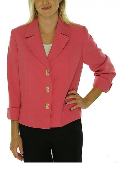 Tahari - Women's Basic Jacket - Strawberry
