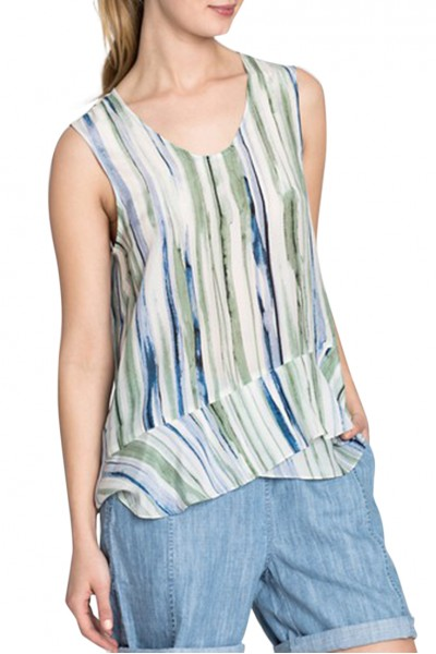 Nic+Zoe - Women's Mojito Nights Tank - Multi