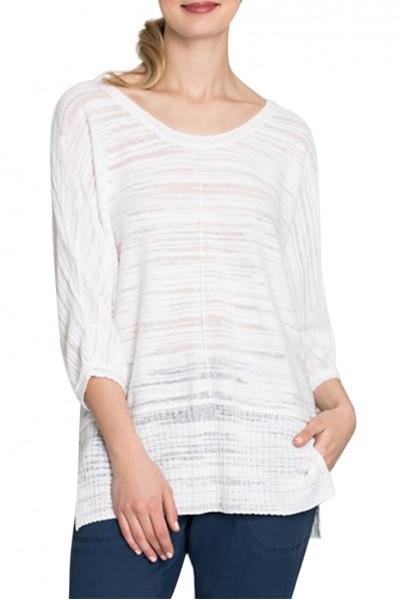 Nic+Zoe - Women's Open Breeze Top - Paper White