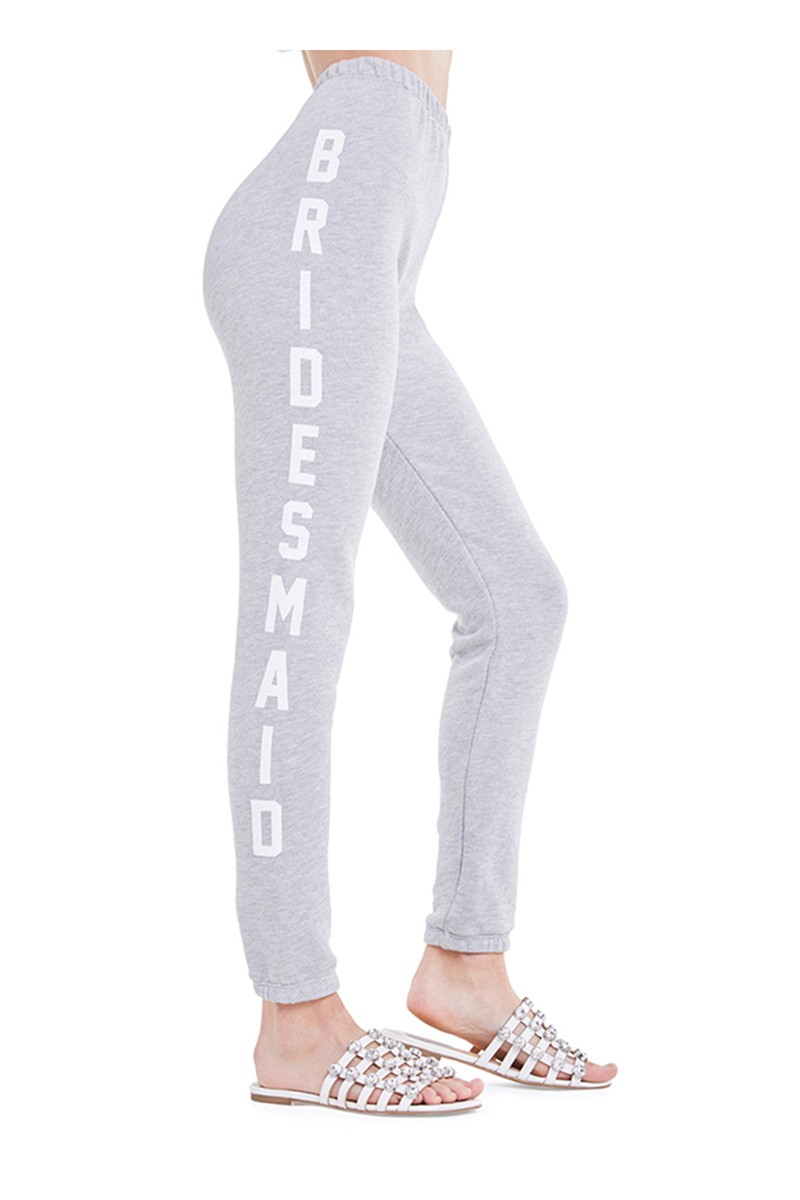 Wildfox - Women's Bridesmaid Print Sweatpants - Heather