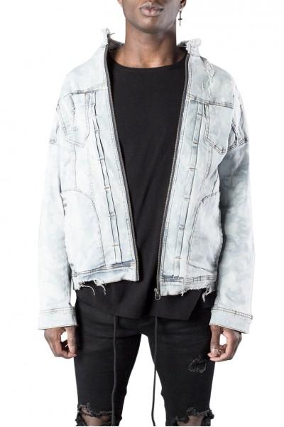 Kollar - Men's Denim Jacket - Light Blue