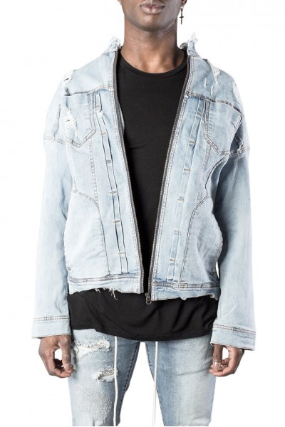 Kollar - Men's Denim Jacket - Blue