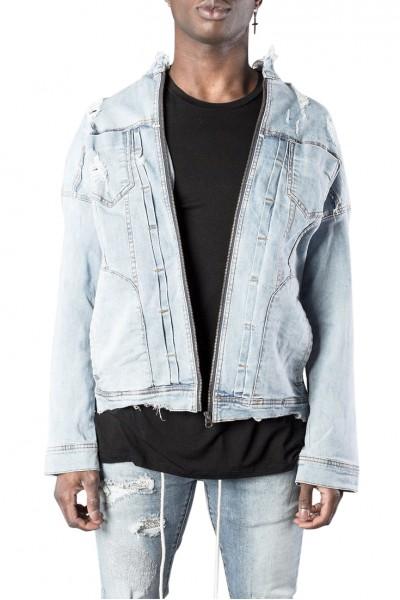 Kollar - Men's Denim Jacket - Blue