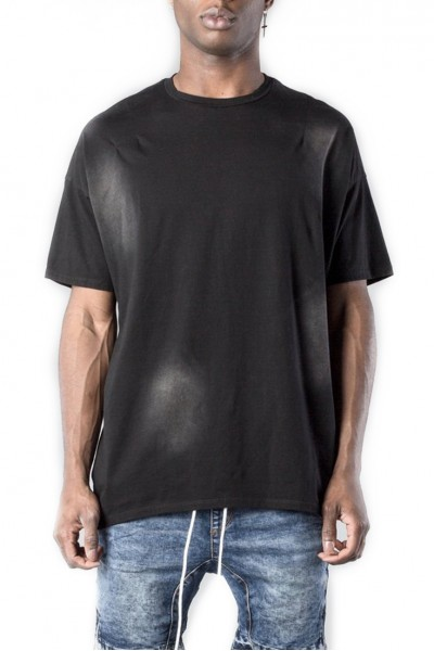 Kollar - Men's Essential Concave Tee - Faded Black
