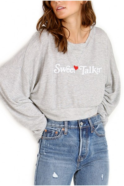 Wildfox  - Women's Sweet Talker Pullover - Heather