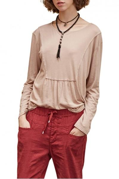 Sacks - Women's Abin Front Cut H Made T-shirt - Sand