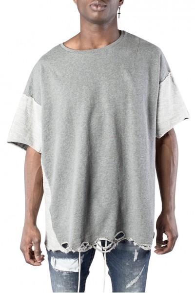 Kollar - Men's Oversized Tee - Grey