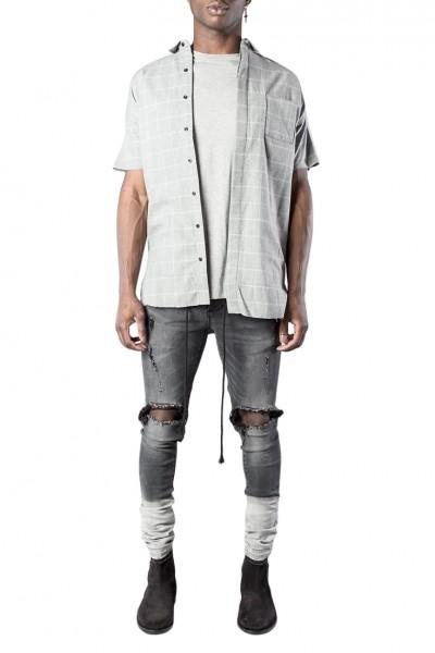 Kollar - Men's Flannel - Grey